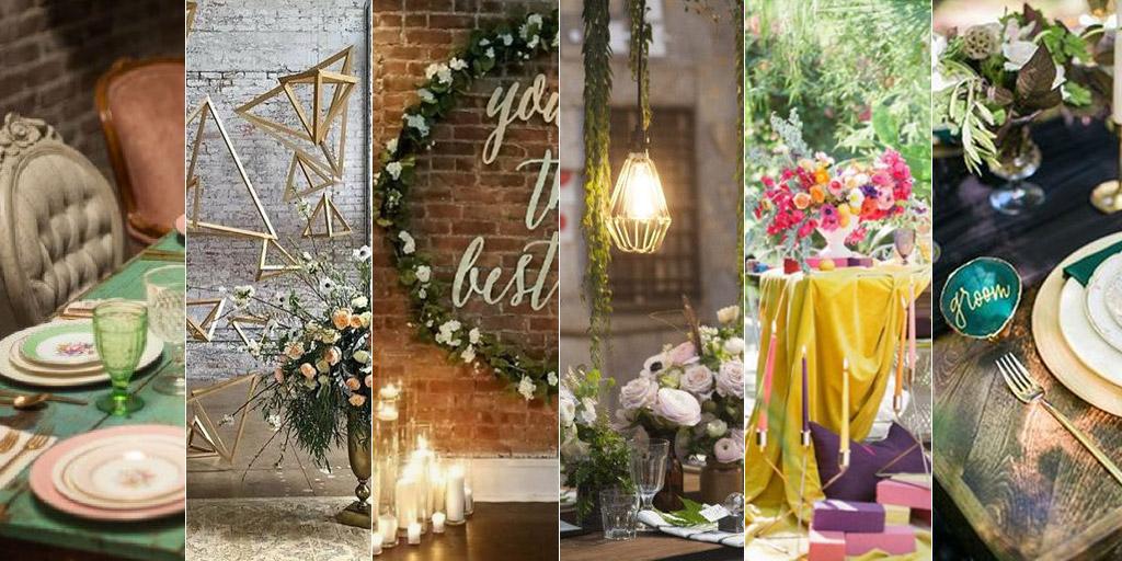 6 tendencias bodas 2018